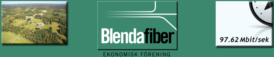 Byanätet Blendafiber